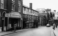 Bromyard, The Falcon, Broad Street 1960