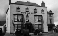 Bromyard, The Hop Pole Hotel c.1955