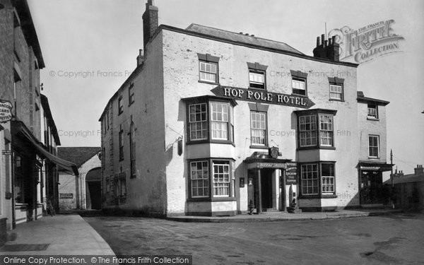 Bromyard, The Hop Pole Inn c.1955