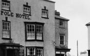 Bromyard, The Pole Hotel c.1955