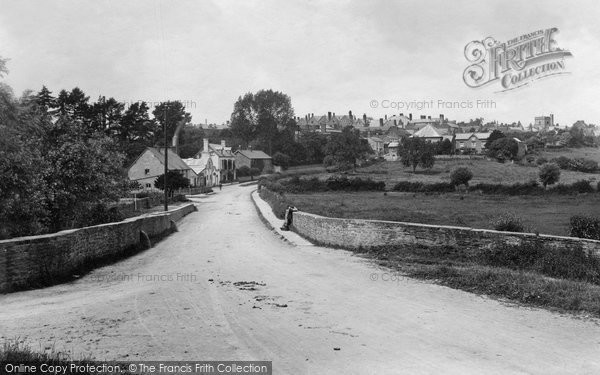 Bromyard, Worcester Road Bridge 1906