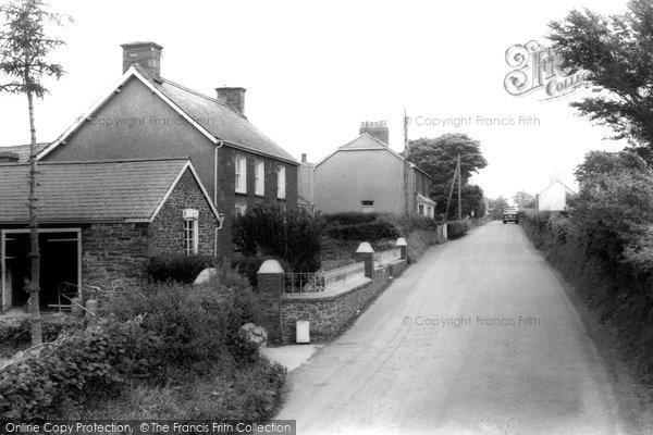Bronant, Village c.1965