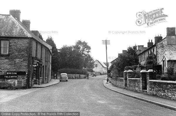 Bronllys, The Village c.1950