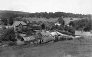 Bronygarth, A Glimpse Of The Village c.1950