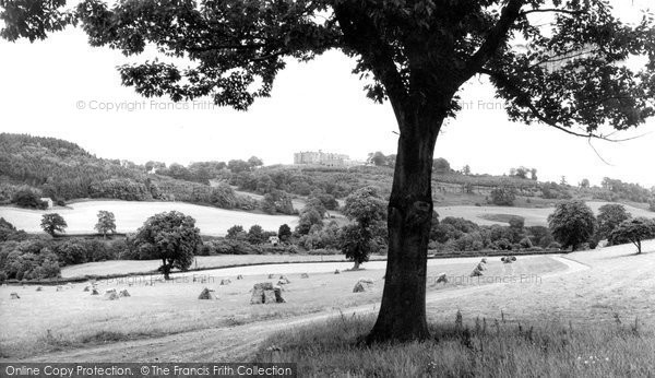 Bronygarth, Chirk Castle From Bronygarth c.1955