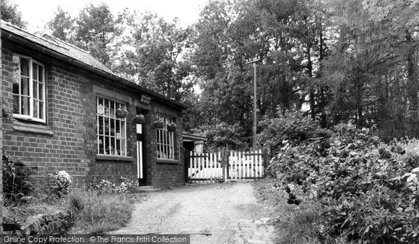 Bronygarth, The Post Office c.1955