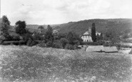 Bronygarth, The School And Cottages c.1950