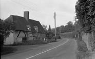 Brook, Old Cottages 1957