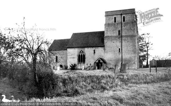 Brook, St Mary's Church c.1955