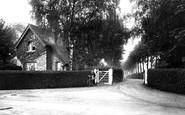 Brookwood, Asylum, Main Entrance 1914