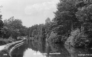 Brookwood, On The Canal 1898