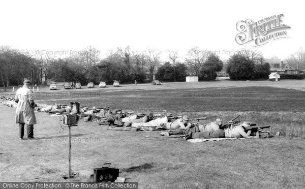 Brookwood, Rifle Range c.1965