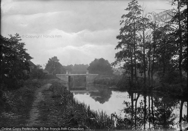 Brookwood, Stamps Bridge 1914