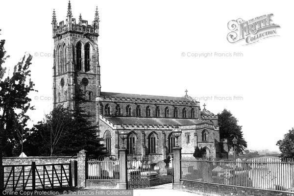 Broseley, All Saints Church 1892