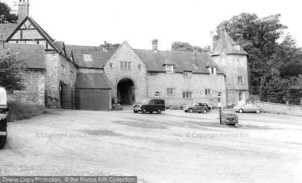 Broseley, Willey Old Hall c.1960