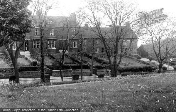 Brotton, Brittania Terrace c.1955