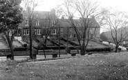 Brotton, Brittania Terrace c.1955