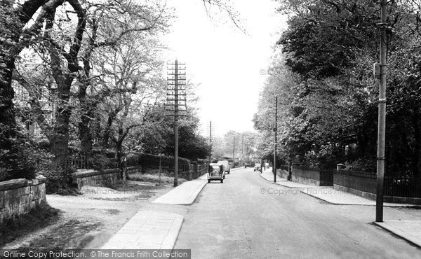 Photo of Brotton, the Avenue c1955