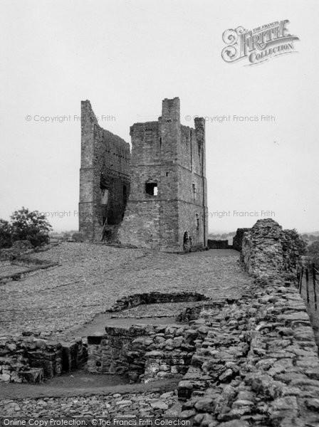 Brough, Brough Castle 1951