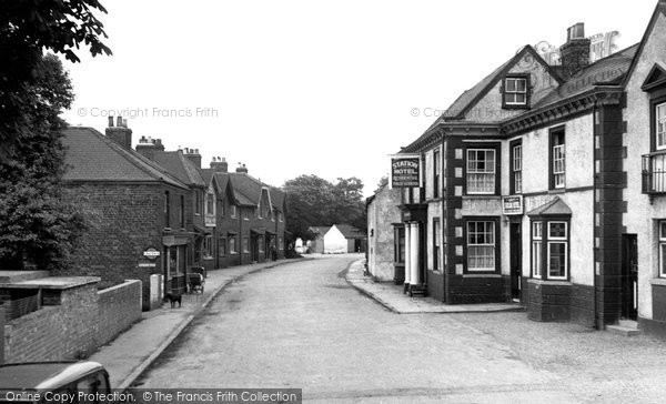 Brough, Station Road c.1955