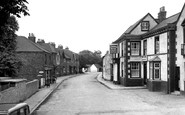 Brough, Station Road c1955