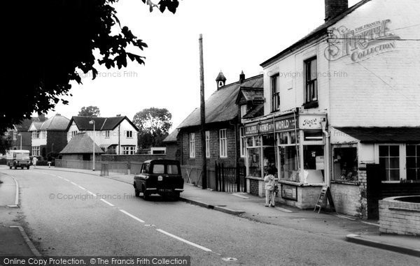 Photo of Broughton Astley, Main Road c1967