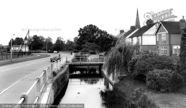 Photo of Broughton Astley, the Stream c1967