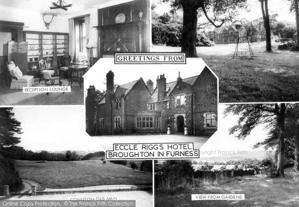 Broughton In Furness, Eccle Riggs Hotel Composite c.1965