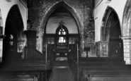 Broughton, Parish Church, Interior c.1960