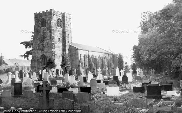 Photo of Broughton, St John's Church 1959