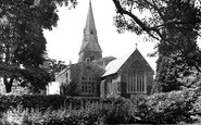 Broughton, St Mary's Church 1921