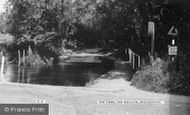 Broughton, The Ford, The Hollow c.1960