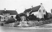 Broughton, The Memorial c.1965