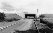 Broughton, The Motorway Bridge 1966