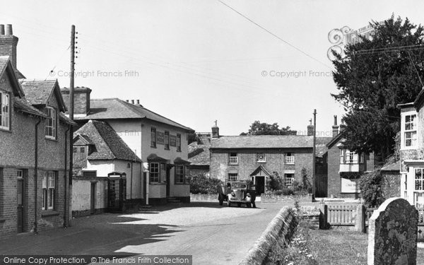 Broughton, The Square c.1955