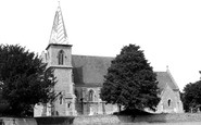 Brown Candover, St Peter's Church c.1960