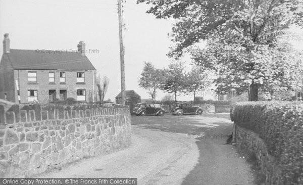 Brown Edge, School Bank c.1955