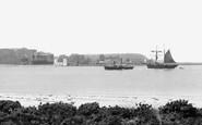Brownsea Island, From Sandbanks c.1881