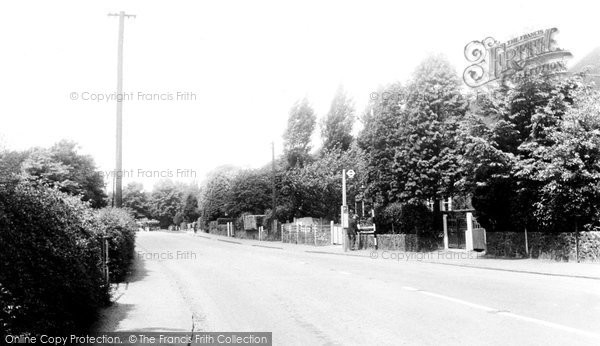 Broxbourne, High Road c.1955