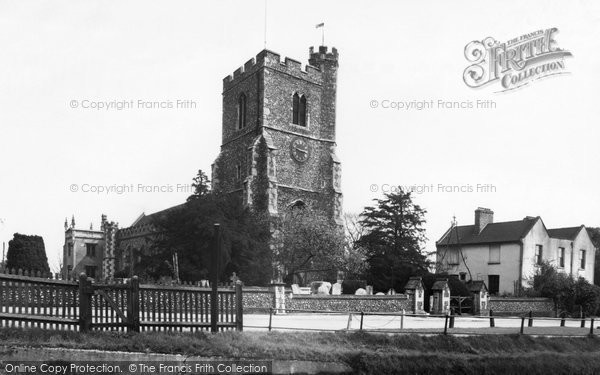 Broxbourne, St Augustine's Parish Church c.1955
