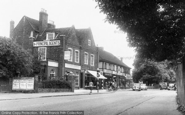 Broxbourne, Station Road c.1955