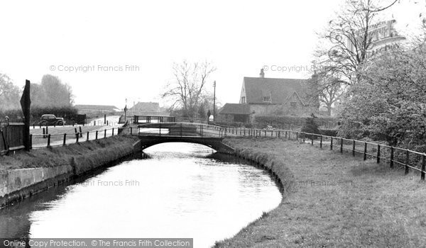 Broxbourne, The New River c.1955
