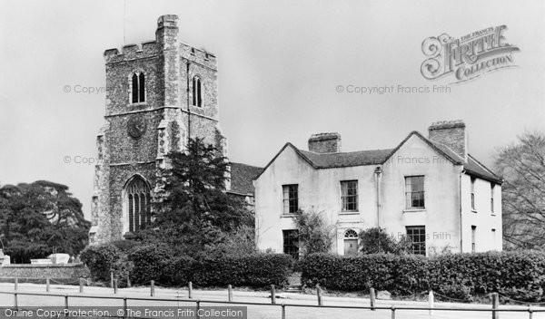 Broxbourne, The Parish Church c.1955