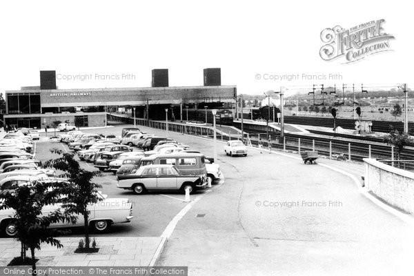 Broxbourne, The Station c.1960