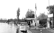 Brundall, River Yare c.1955