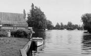Brundall, River Yare c.1965
