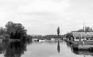 Brundall, River Yare c.1965
