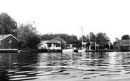 Brundall, Tidecrafts Yard c.1960