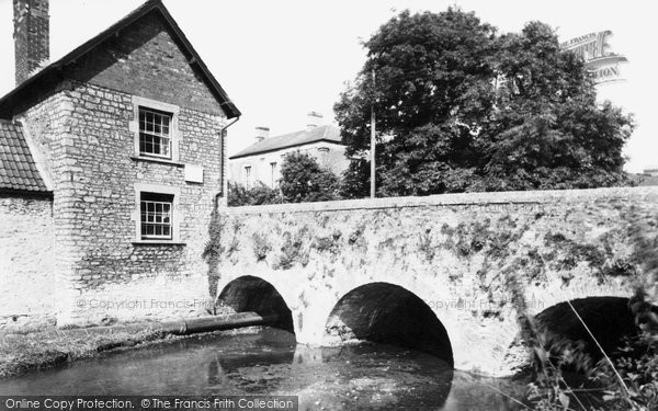 Bruton, Church Bridge c.1960