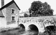 Bruton, Church Bridge c.1960